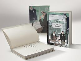 《欧亨利短篇》插画-百词斩阅读计划no.4