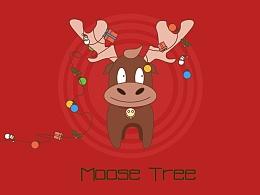 麋鹿圣诞树~