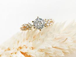 梵尼洛芙珠宝 | 轻奢公主系列求婚钻戒【星河】