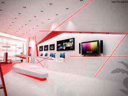 长城电子展示空间