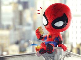 """""""蜘蛛侠""""造型设计,产品设计集(手办玩具,衍生产品)"""