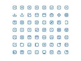 16 pixel cute icons(Ai源文件分享)