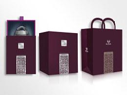2013纯锡工艺品包装设计