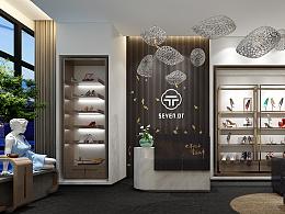 SEVEN.OT.服饰鞋业空间设计