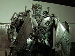 铁的传奇钢雕艺术新作品:御天敌