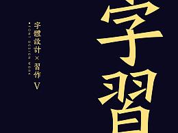 习/字体设计V