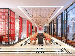 源珑黑牛—现代中式火锅店设计