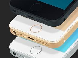iPhone5s 3色模板