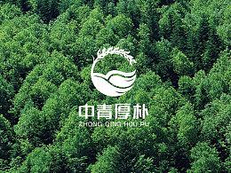 河南中青厚朴品牌LOGO设计
