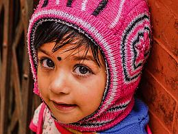 游走尼泊尔——大眼女孩儿
