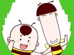 蜂宝宝手机壁纸