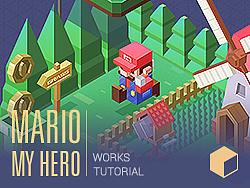 (中级篇)教程&作品 MARIO MY HERO /WORKS & TUTORIAL