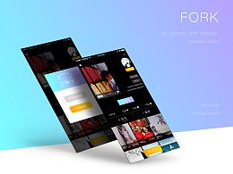 forkapp/短视频/黑色经典/ui/UI界面/app界面/动效设计