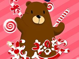 我超软-熊博士品牌卡通形象设计图片