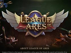 《LEAGUE  OF  ARES》游戏UI