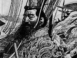《楚汉之战》连环画·连载·(一) 