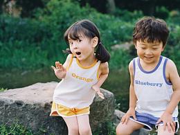 让我们一起长大/童装拍摄