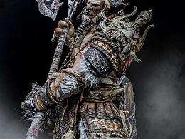 lanbzhh个人雕像作品