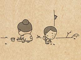 小明漫画——感动中国