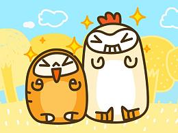 面包吉咕咕鸡|微信表情
