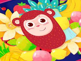 鲁班班 超级猴系列 电商包装设计 喜饼喜蛋包装设计 礼品包装设计