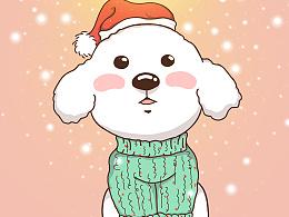 豆包圣诞节祝福手机壁纸