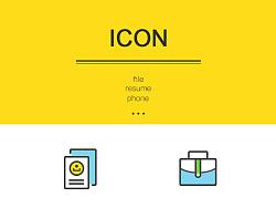 办公图标icon