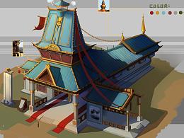 古代建筑单体设计