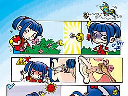 2007《少年科学画报》栏目漫画