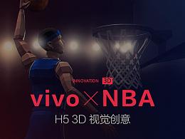vivo-NBA H5 3D 视觉创意