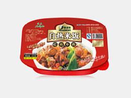 自热米饭包装设计(方便食品包装设计)