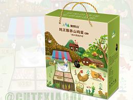 凤凰山山鸡蛋 包装盒
