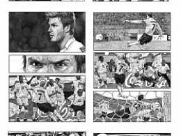 近期的一些漫画扉页