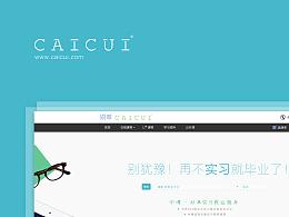 Website-实习招聘界面