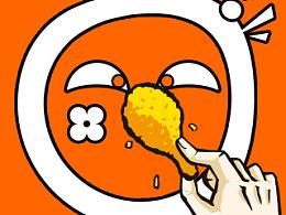 TUDOU*KFC SNS宣传 斗鸡眼大赛