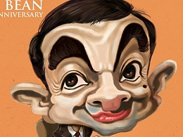 手痕繪 ~ Mr. Bean 25th Anniversary