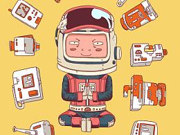 太空人系列