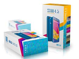 安卓智能手机star 4.5包装设计