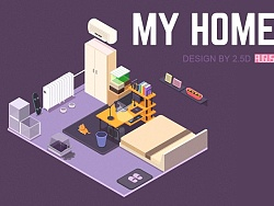 My home by 2.5D