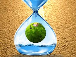 节约用水,关爱地球
