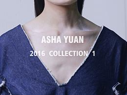 原创设计  ASHA YUAN  2016 collection 1
