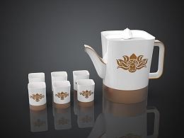 荷.茶    茶具