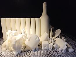 3D打印样品上色,小批量生产