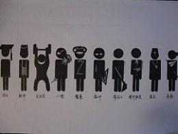 小黑人与十种职业