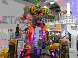 科技与美的完美结合结合——金属诱惑智能机器人空降美博会