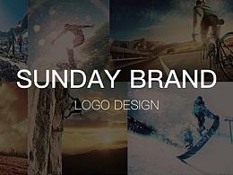 sunday户外运动品牌logo设计方案