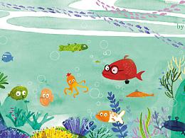 小鱼儿吐泡泡