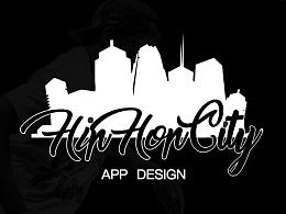 嘻哈之城APP界面设计