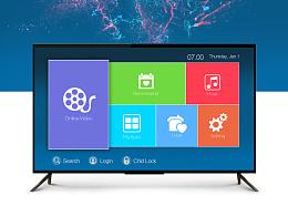 电视盒子ui设计(Smart TV Box UI)