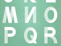 26个英文字母——字体设计